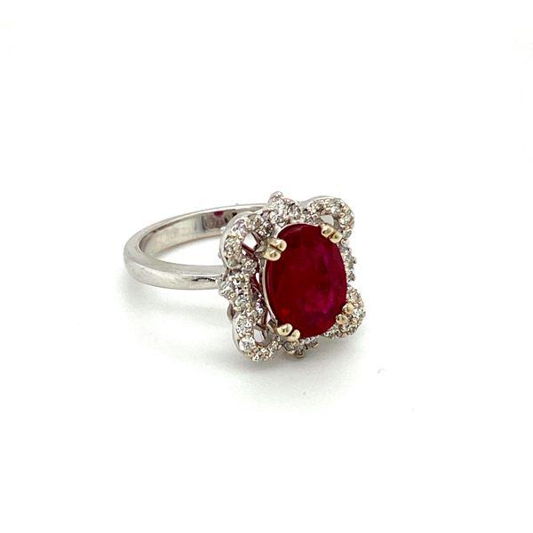 Ruby and Diamond Ring Image 2 Toner Jewelers Overland Park, KS