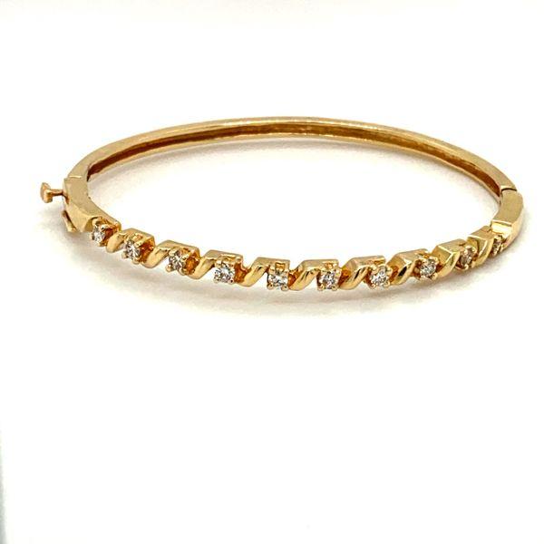 Estate Diamond Bangle Toner Jewelers Overland Park, KS