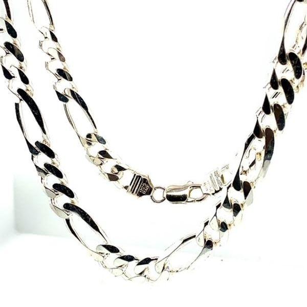 Cuban Link Silver Chain Image 3 Toner Jewelers Overland Park, KS