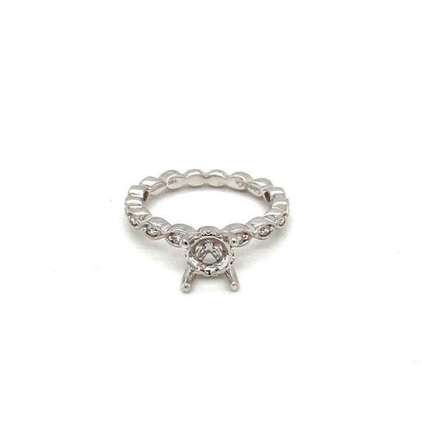 Vintage Inspired Diamond Engagement Ring Setting Toner Jewelers Overland Park, KS