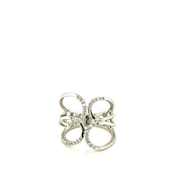 White Gold and Diamond Fashion Ring Toner Jewelers Overland Park, KS