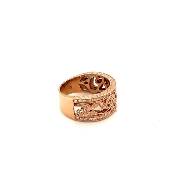 Estate Rose Gold Diamond Ring  Image 2 Toner Jewelers Overland Park, KS