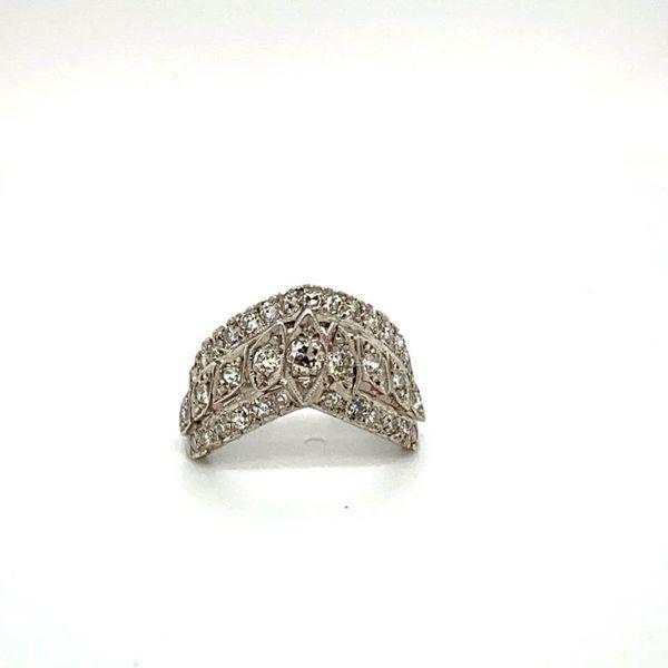Lady's V Shaped Diamond Estate Ring Toner Jewelers Overland Park, KS
