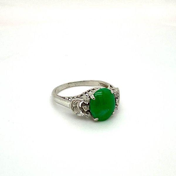 Estate Jade Ring Toner Jewelers Overland Park, KS