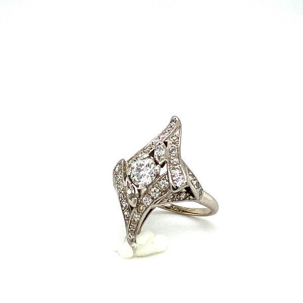 Lady's Estate Diamond Ring Image 2 Toner Jewelers Overland Park, KS