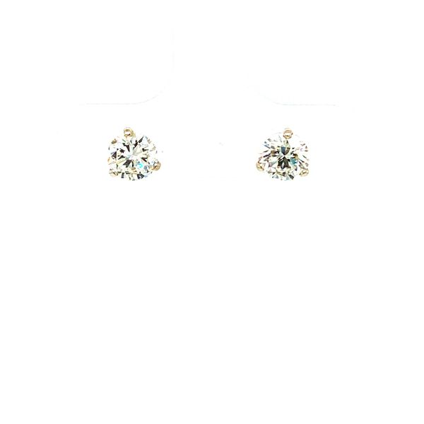 Round Diamond Stud Earrings Toner Jewelers Overland Park, KS