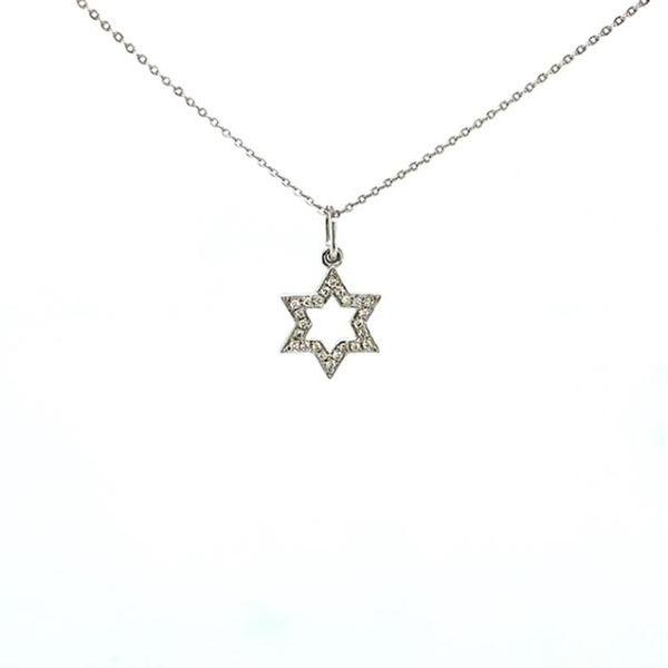 Star of David Diamond Necklace Toner Jewelers Overland Park, KS