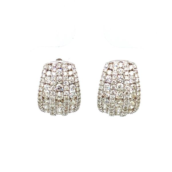 Diamond Huggie Earrings Toner Jewelers Overland Park, KS