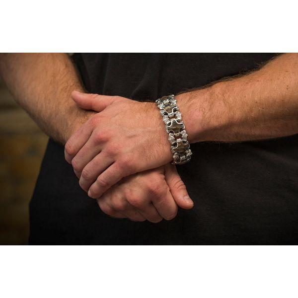Aleksius Woolly Mammoth Tooth Men's Bracelet Image 5 Toner Jewelers Overland Park, KS