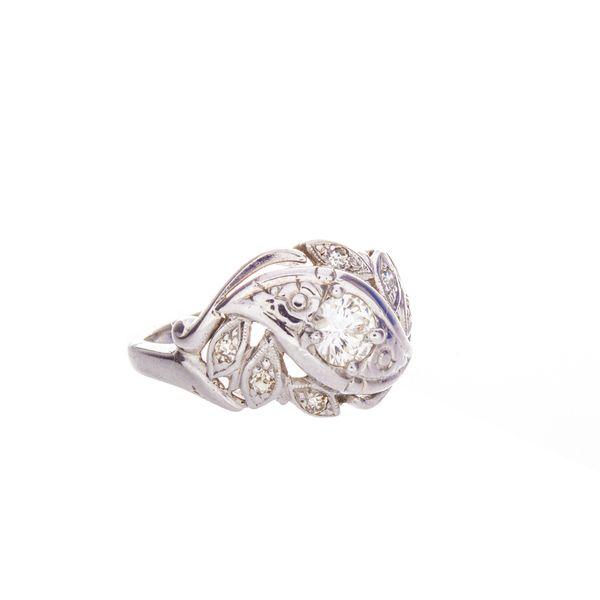 Vintage Estate Diamond ring Image 2 Toner Jewelers Overland Park, KS