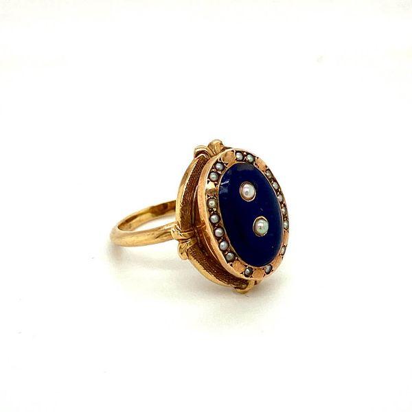 Estate Antique Enamel Ring Toner Jewelers Overland Park, KS