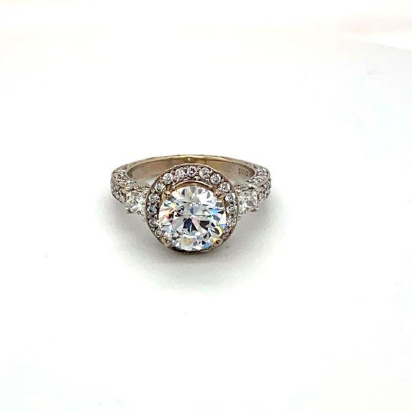 Estate Diamond Mounting  Toner Jewelers Overland Park, KS