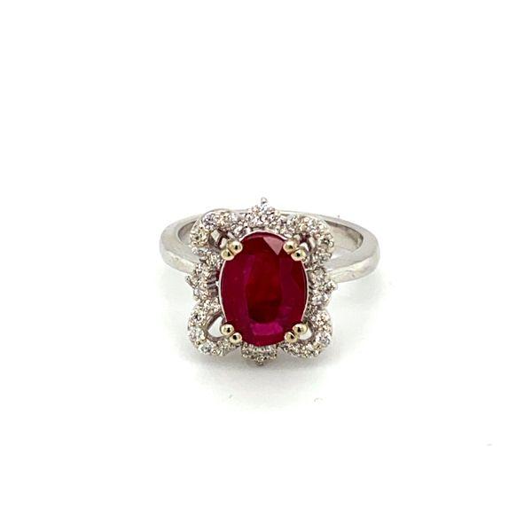 Ruby and Diamond Ring Toner Jewelers Overland Park, KS