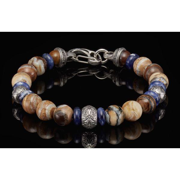 Woolly Mammoth Men's Bead Bracelet Toner Jewelers Overland Park, KS