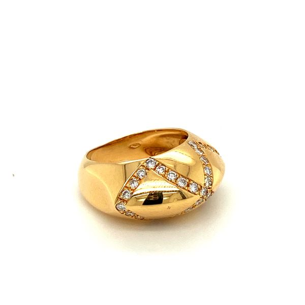 Estate Diamond Infinity Ring Image 2 Toner Jewelers Overland Park, KS