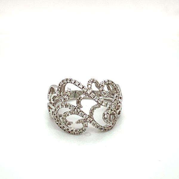 Diamond Scrollwork Ring Toner Jewelers Overland Park, KS