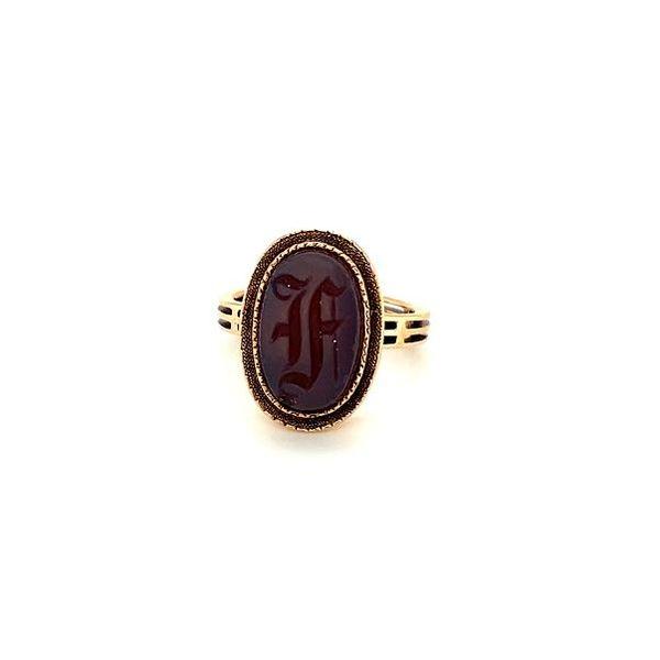 Estate Initial Ring  Image 2 Toner Jewelers Overland Park, KS