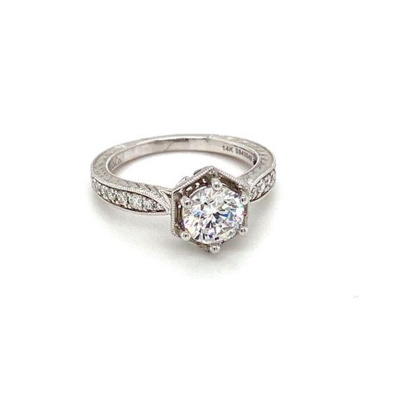 Solitaire Engagement Ring Setting Toner Jewelers Overland Park, KS