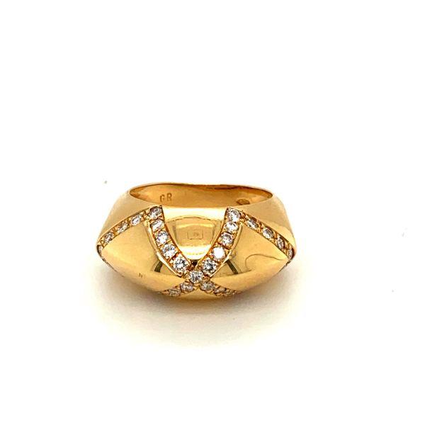 Estate Diamond Infinity Ring Toner Jewelers Overland Park, KS