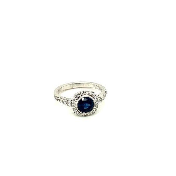 Sapphire Ring  Image 2 Toner Jewelers Overland Park, KS