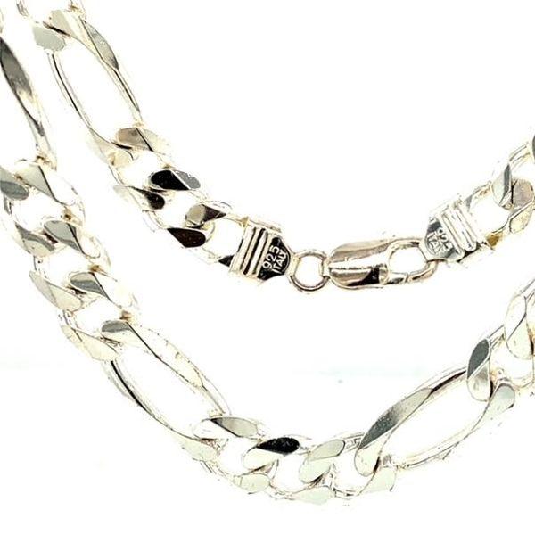 Cuban Link Silver Chain Toner Jewelers Overland Park, KS