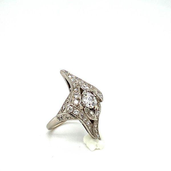 Lady's Estate Diamond Ring Image 3 Toner Jewelers Overland Park, KS