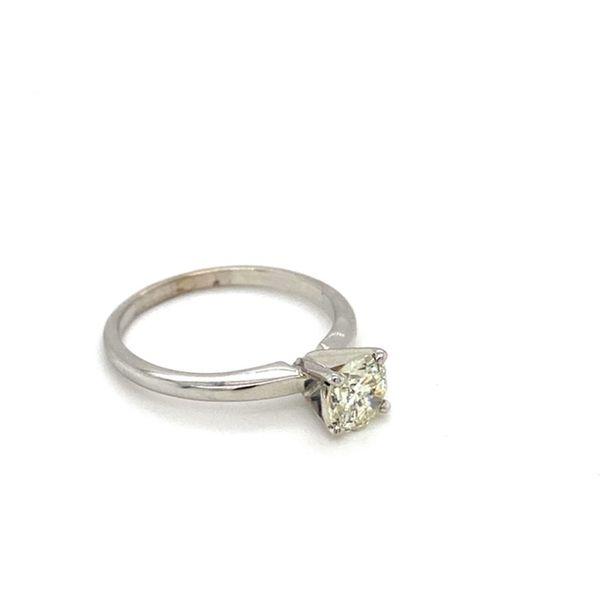 Round Solitaire Diamond Engagement Ring  Image 3 Toner Jewelers Overland Park, KS