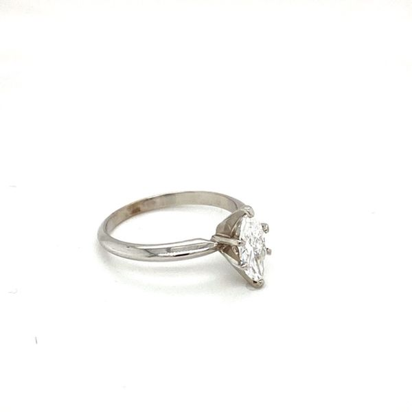Marquise Solitaire Engagement Ring  Image 3 Toner Jewelers Overland Park, KS