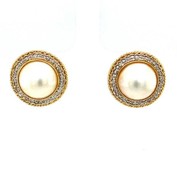 Estate Pearl Earrings Toner Jewelers Overland Park, KS