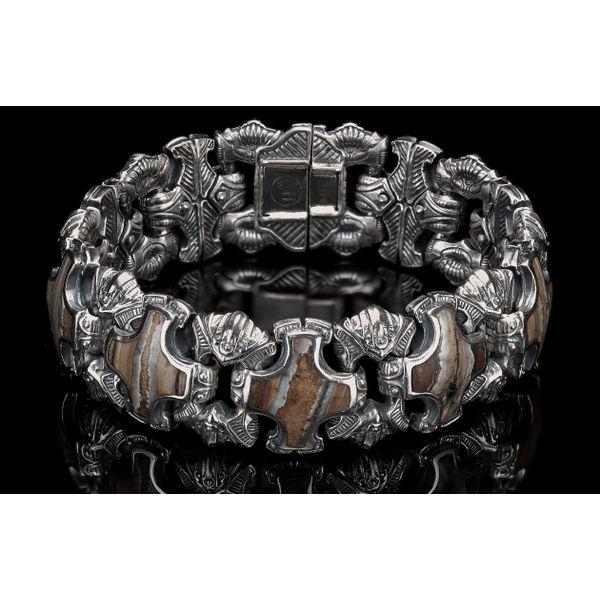 Aleksius Woolly Mammoth Tooth Men's Bracelet Toner Jewelers Overland Park, KS