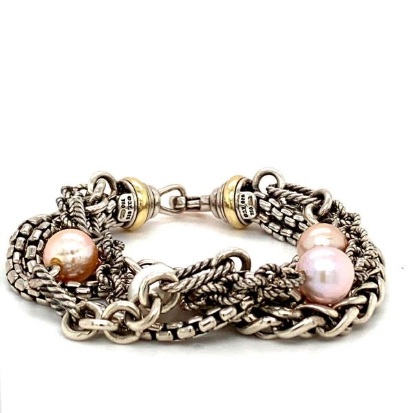 Estate David Yurman Pearl & Silver Bracelet Toner Jewelers Overland Park, KS