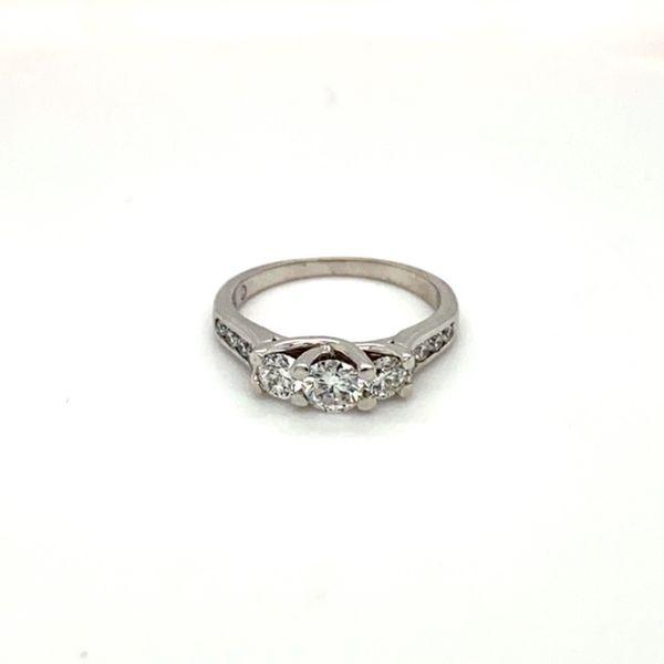 Estate Diamond Three Stone Ring Toner Jewelers Overland Park, KS