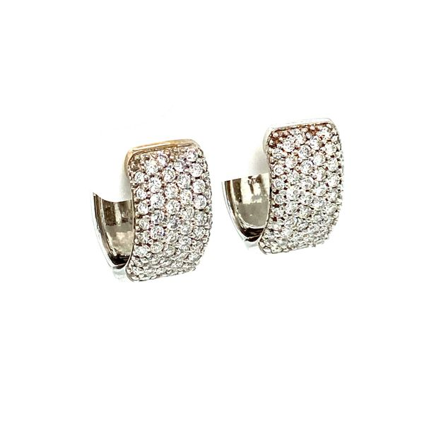 Estate Diamond Earrings Image 2 Toner Jewelers Overland Park, KS