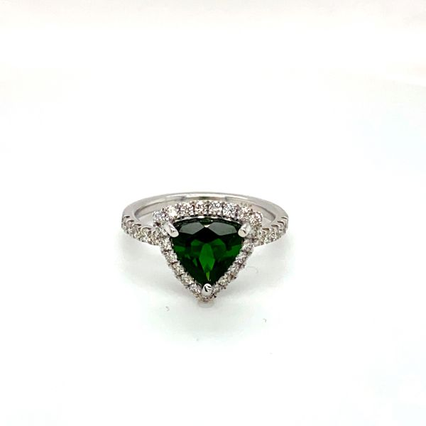 Chrome Diopside and Diamond Ring Toner Jewelers Overland Park, KS