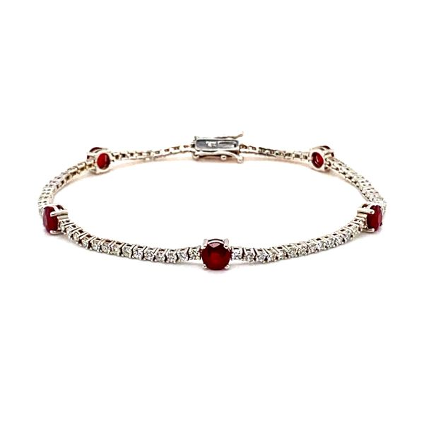 Lady's Diamond and Ruby Bracelet Toner Jewelers Overland Park, KS