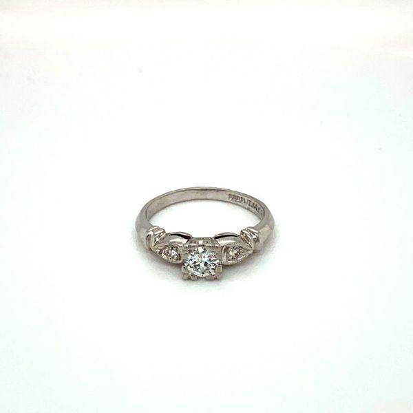 Vintage Estate Engagement RIng Toner Jewelers Overland Park, KS