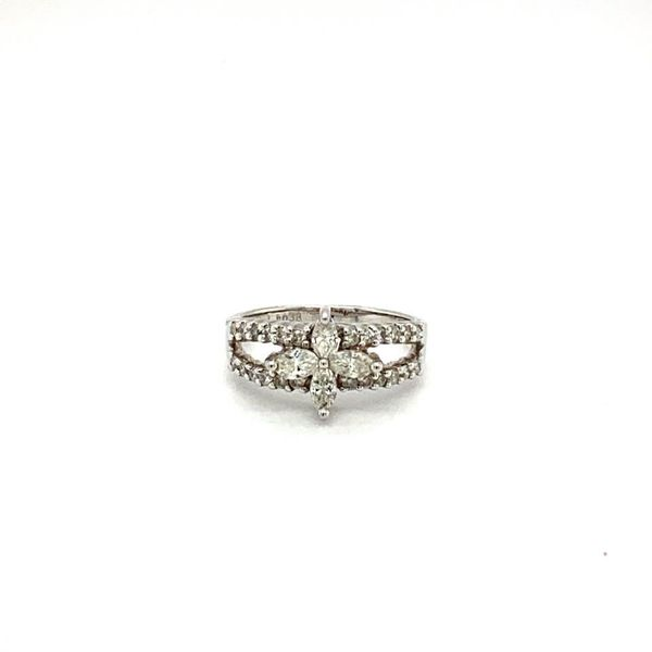 Estate Diamond Quatrefoil Ring Toner Jewelers Overland Park, KS