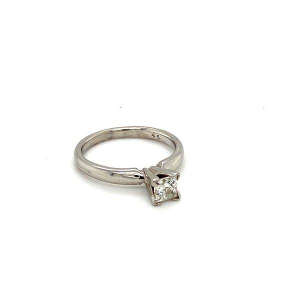 Princess Cut Solitaire Diamond Engagement Ring Image 2 Toner Jewelers Overland Park, KS