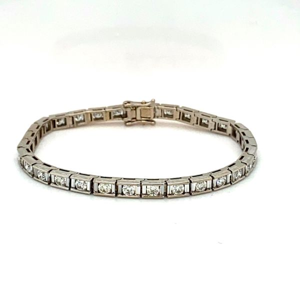 Estate Diamond Bracelet Toner Jewelers Overland Park, KS