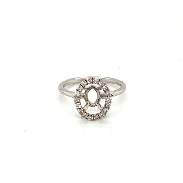 Oval Engagement Ring Setting Toner Jewelers Overland Park, KS