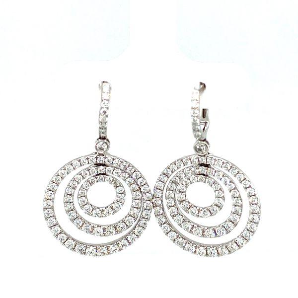 Diamond Circle Earrings Toner Jewelers Overland Park, KS