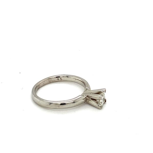 Princess Cut Solitaire Diamond Engagement Ring Image 3 Toner Jewelers Overland Park, KS