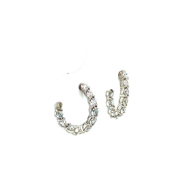 Estate Diamond Earrings Image 2 Toner Jewelers Overland Park, KS