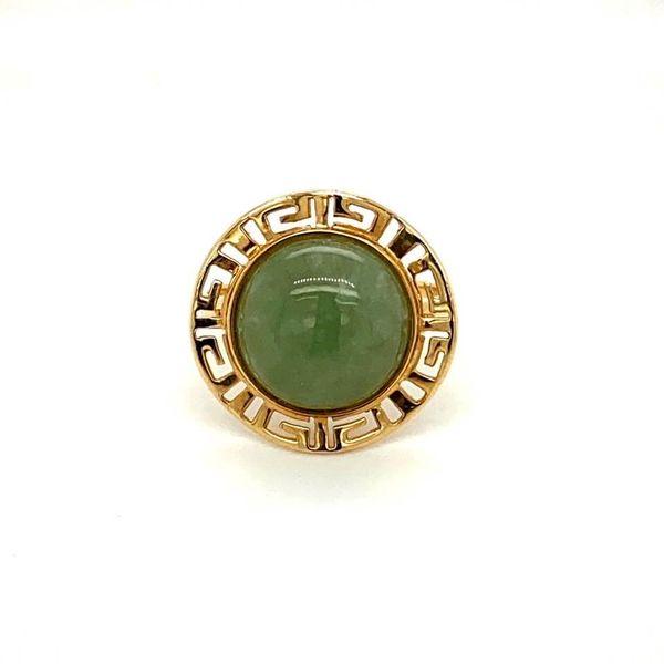 Estate Jade Ring Image 2 Toner Jewelers Overland Park, KS