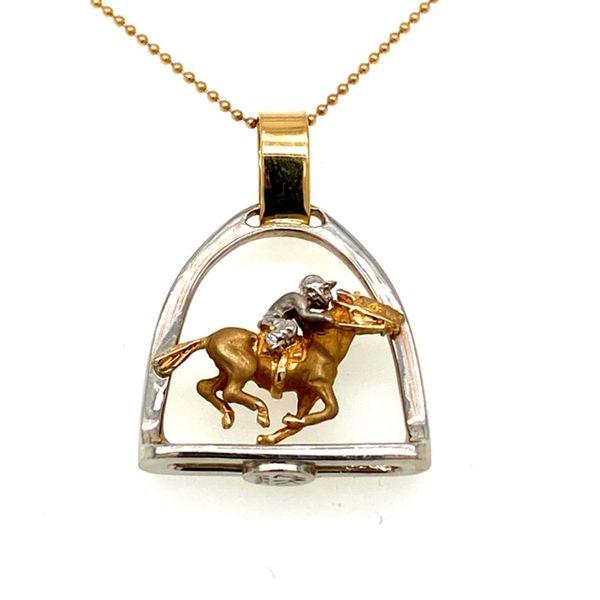 Racing Horse Pendant  Toner Jewelers Overland Park, KS