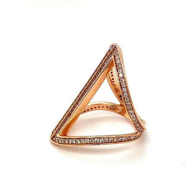 Estate Diamond Geometric Ring Image 3 Toner Jewelers Overland Park, KS