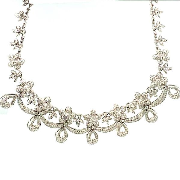 Lady's Estate Diamond Necklace Toner Jewelers Overland Park, KS