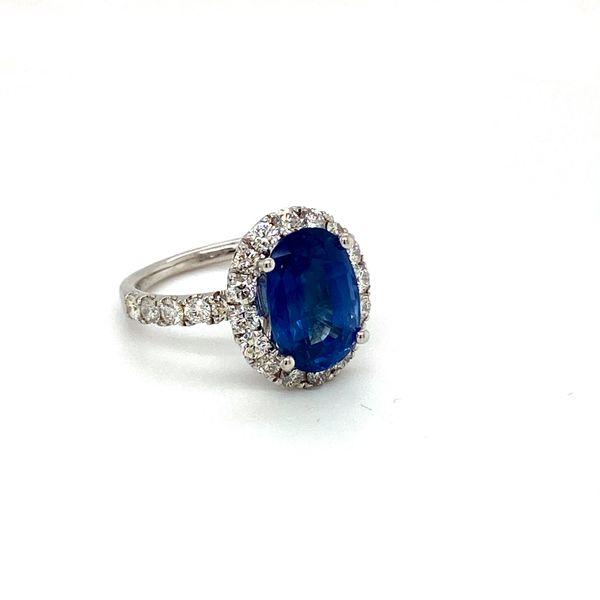 Sapphire and Diamond Ring Image 2 Toner Jewelers Overland Park, KS