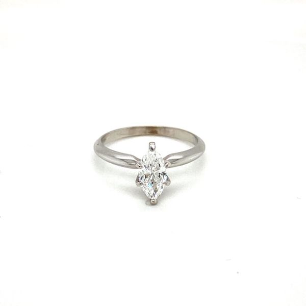 Marquise Solitaire Engagement Ring  Toner Jewelers Overland Park, KS
