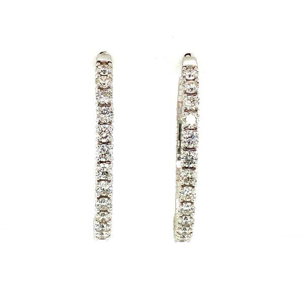 4cttw Diamond Inside/Outside Hoops Toner Jewelers Overland Park, KS